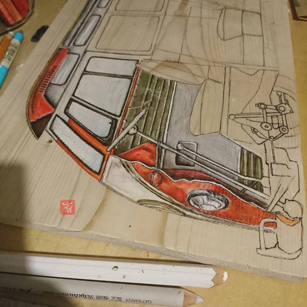 VW T1 Details by ladan