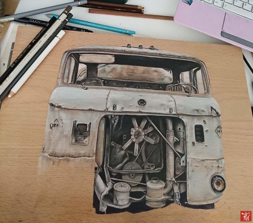IFA drawing by ladan